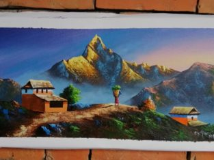 Beautiful Acrylic Painting is available for Sale