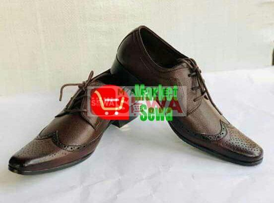 leather shoes sale with the best price in Nepal