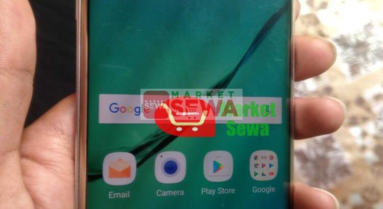 Samsung s6 edge, used  Smartphone on sell in Nepal