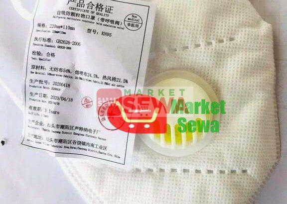 Genuine KN95 Mask,buy mask at wholsale price in Nepal