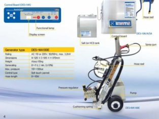 Disinfectant Generator and High Pressure Washer