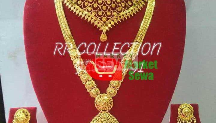 gold plated ornaments with teej offer buy in Kathmandu