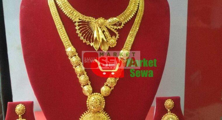 Gold plated ornaments, Buy Rani Haar with Warranty