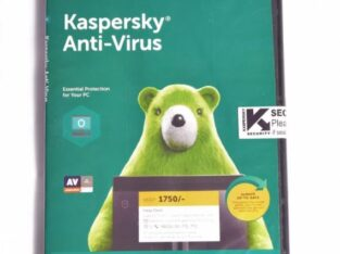 3 in 1 Kaspersky Antivirus and Internet Security Software