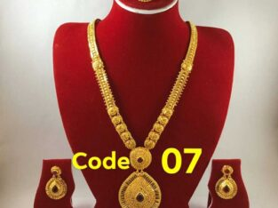 Gold Plated rani haar set with Warranty