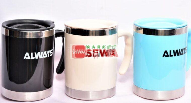 Hot and Cold Tea Coffee Cup With Lid buy in nepal