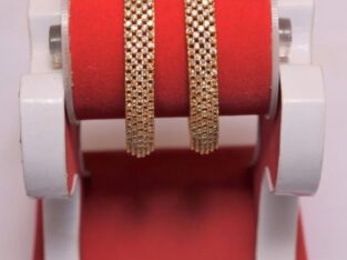 Gold Plated Bala with Stone Bangles Set buy in Nepal
