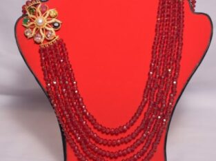 Gold Plated Chandra Haar Bengali necklace