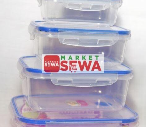 High Quality Air Tight Food Container Buy in Nepal
