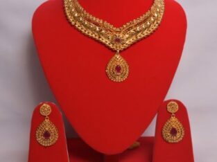 Gold Plated Necklace set with stone buy in Nepal