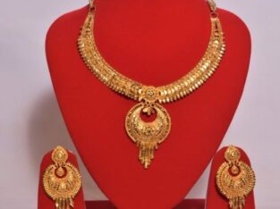 Gold Plated Necklace set buy in Nepal