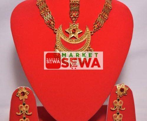 Gold Plated Sirbandi with Warranty