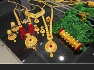 Rani Har And Necklace Set