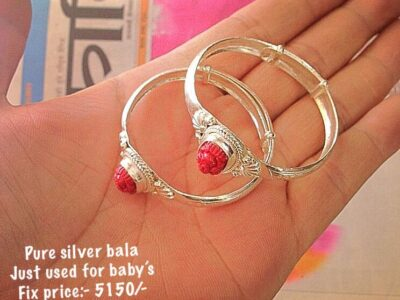 silver bala used for baby's