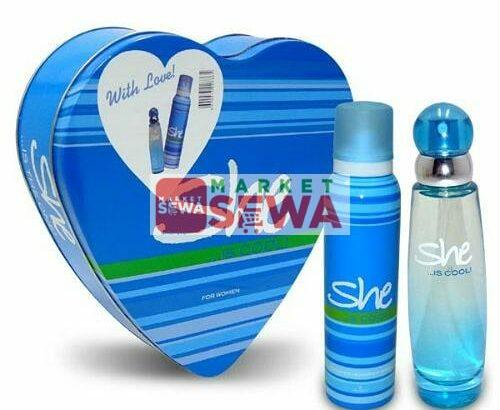 She is Sweet – Perfume Gift Set of 3pc