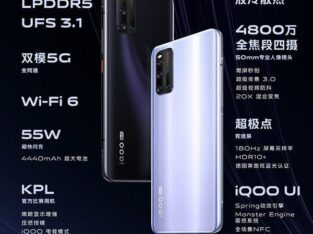 vivo iqoo 3 – Snapdragon 865 – 55W Charger -Monster Touch Buttons
